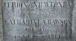 Catharine A. <I>Rawson</I> Fonda