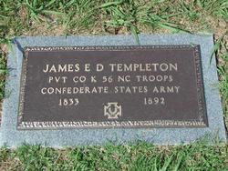 Pvt James E D Templeton