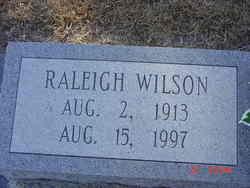 Raleigh Wilson