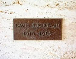 David Samuel Bartran, Sr