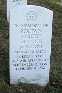1LT Zoltan Robert Szaloki