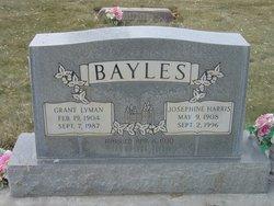 Florence Josephine <I>Harris</I> Bayles
