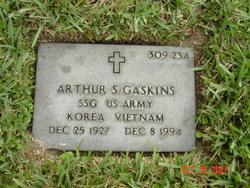 Arthur S Gaskins
