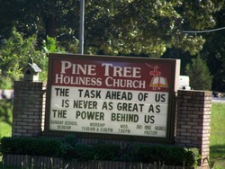 Pine Tree Holiness Church Cemetery