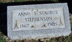 Anna Susan <I>Staubus</I> Stephenson