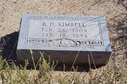 B. D. Kimbell