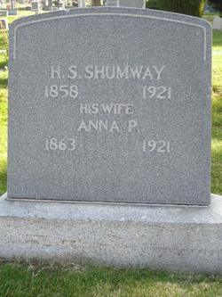 """Anna Pixley """"Annie"""" <I>Johnson</I> Shumway"""