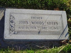 John Woods Ahern