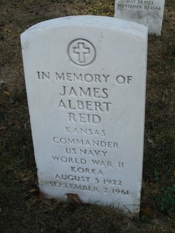 CDR James Albert Reid