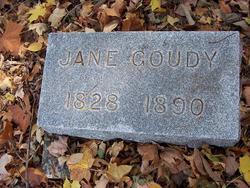 Jane <I>Wilson</I> Goudy