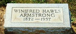 Winifred <I>Hawes</I> Armstrong