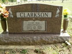 Essie Mae <I>Brightwell</I> Clarkson