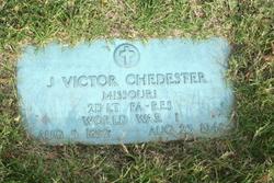Lieut John Victor Chedester