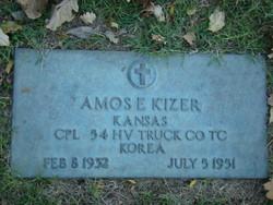 Corp Amos E. Kizer