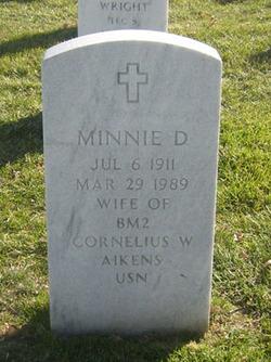 Minnie D Aikens