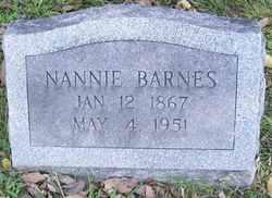 Nannie Winifred <I>Cline</I> Barnes