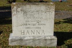 Janie <I>Moore</I> Hanna