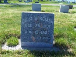 Dora Irene <I>Wheeler</I> Boman
