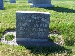 Cora Elizabeth <I>Cunningham</I> Boman