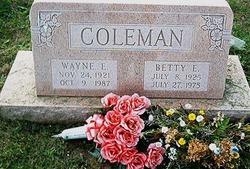 Wayne Eugene Coleman