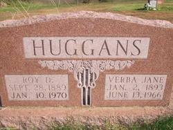 """Verba Jane """"Verbie"""" <I>Spence</I> Huggans"""