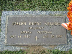 Joseph Dupre Abshire