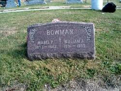 Mabel Pearl <I>Brohard</I> Bowman