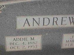 Addie <I>Morris</I> Andrews