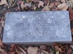 Ada R Wisdom, Sr