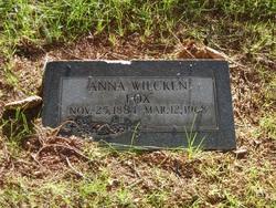 Anna Theresa <I>Wilcken</I> Fox