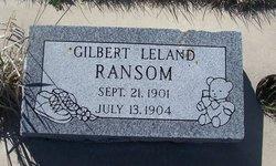 Gilbert Leland Ransom