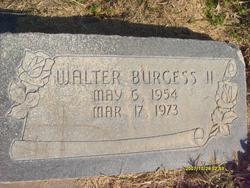 Walter Burgess, II