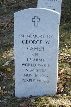 CPL George William Geher