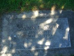 Ada May <I>Taylor</I> Bingham