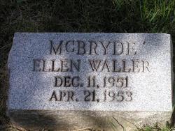 Ellen Waller McBryde