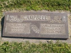 Emma Isabella <I>Halladay</I> Campbell