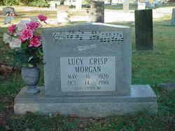 Lucy <I>Crisp</I> Morgan