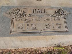 "Rita Mildred ""Anita"" <I>Childs</I> Hall"