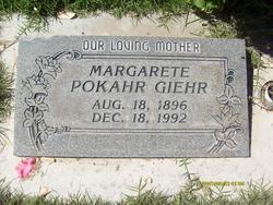 Margarete <I>Pokahr</I> Giehr