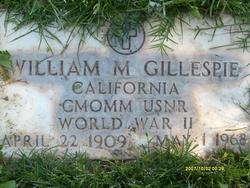 William Monterville Gillespie