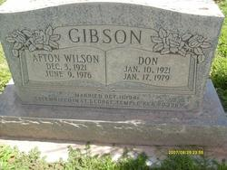Afton <I>Wilson</I> Gibson