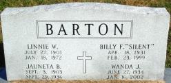Wanda Joan <I>McHargue</I> Barton