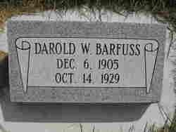 Darold W. Barfuss