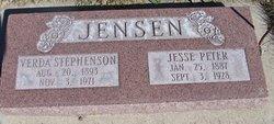 Verda Lucille <I>Stephenson</I> Jensen