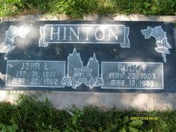 Ruth Milne <I>Fawcett</I> Hinton