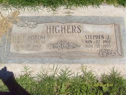 Syble Norene <I>Hunter</I> Highers