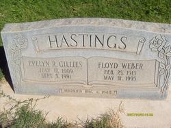 Evelyn Rose <I>Gillies</I> Hastings