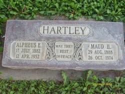 Maude <I>Haycock</I> Hartley