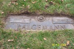 Clara <I>Fiene</I> Balgemann