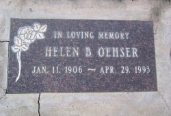 Helen Beatrice <I>Knox</I> Oehser